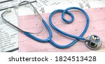 Stethoscope In Form Of Heart On ...