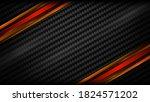 abstract metallic black red... | Shutterstock .eps vector #1824571202