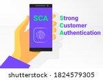 sca   strong customer... | Shutterstock .eps vector #1824579305