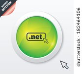 domain net sign icon. top level ...