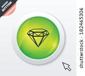 diamond sign icon. jewelry...