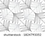 title  linear vector pattern ...   Shutterstock .eps vector #1824793352