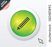 pencil sign icon. edit content...