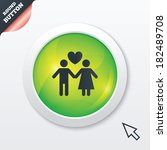 couple sign icon. male love...