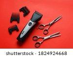 Barber Clipper Scissors For...