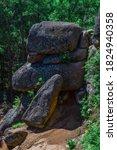 Large Geometric Stone Rocks In...