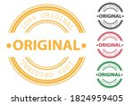 original rubber stamp and... | Shutterstock .eps vector #1824959405