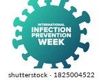 international infection... | Shutterstock .eps vector #1825004522