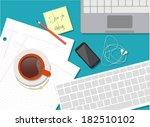 flat design vector illustration ... | Shutterstock .eps vector #182510102