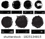 grunge post stamps collection ... | Shutterstock .eps vector #1825134815