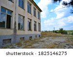 Old And Brownfield School In...