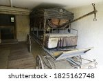 Old Horse Drawn Carriage Coach...