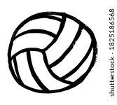 volleyball ball sports activity ...   Shutterstock .eps vector #1825186568