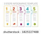 one two three four five  ... | Shutterstock .eps vector #1825227488