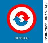 refresh icon vector  update...