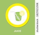 juice icon   simple  vector ...