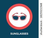 sunglasses icon   simple ...