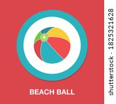 sea ball icon   simple  vector  ...