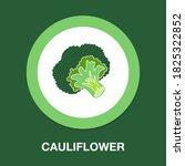 cauliflower icon   simple ...