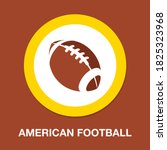 american football icon   simple ...