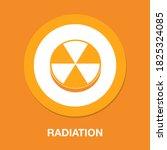 Radiation Flat Icon   Simple ...