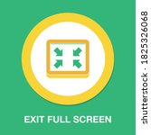 exit full screen icon   simple  ...