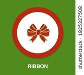 ribbon flat icon   simple ...