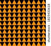 black triangle pattern on... | Shutterstock .eps vector #1825433618