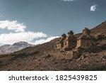 Ancient Stone Buddhist Chortens ...