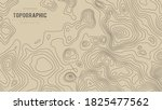topographic map height abstract ... | Shutterstock .eps vector #1825477562