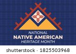 national native american... | Shutterstock .eps vector #1825503968