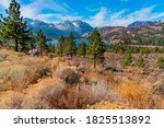 June Lake Sits In The Valley Of ...