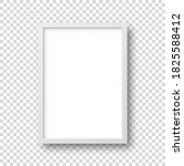 realistic picture frame... | Shutterstock .eps vector #1825588412