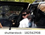 tom cruise  daughter suri out... | Shutterstock . vector #182562908