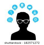 vector illustration  eps 10  of ... | Shutterstock .eps vector #182571272