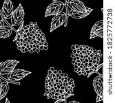 seamless pattern with snowball... | Shutterstock .eps vector #1825772738
