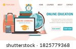 e learning and education ...   Shutterstock .eps vector #1825779368