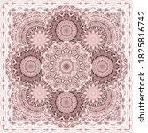 Beautiful Square Pattern With...