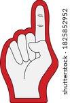 american football foam finger...