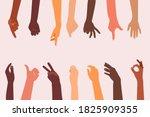 Human Hands Different...