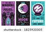 magic mystical witch lettering... | Shutterstock .eps vector #1825920305