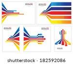 colored arrows vector | Shutterstock .eps vector #182592086