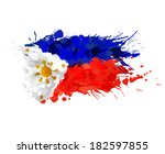 Flag Of Philippines Made Of...