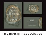 invitation to the wedding  a... | Shutterstock .eps vector #1826001788