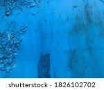 Texture In Blue. Bright  Matte...