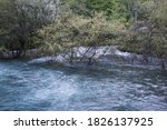 A River With High Water After...