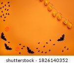 halloween background. halloween ... | Shutterstock . vector #1826140352