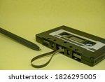 Close Up Of Vintage Audio...