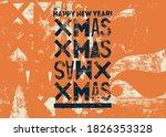 typographical vintage grunge... | Shutterstock .eps vector #1826353328