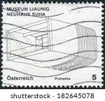 austria   circa 2011  postage... | Shutterstock . vector #182645078
